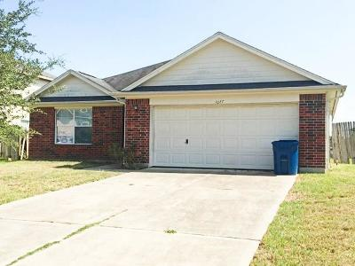 Rosenberg Single Family Home For Sale: 1027 Harrisburg Court
