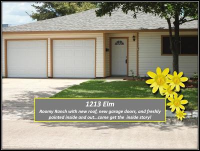 Deer Park Single Family Home For Sale: 1213 Elm Street