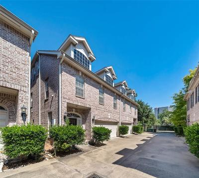 Houston Condo/Townhouse For Sale: 5833 Val Verde Street