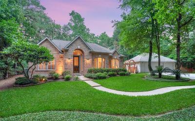 Conroe Single Family Home Option Pending: 16517 Stonecrest Drive