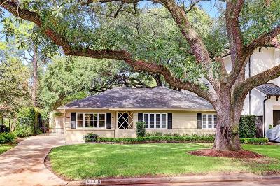 Houston Single Family Home For Sale: 4110 Whitman Street