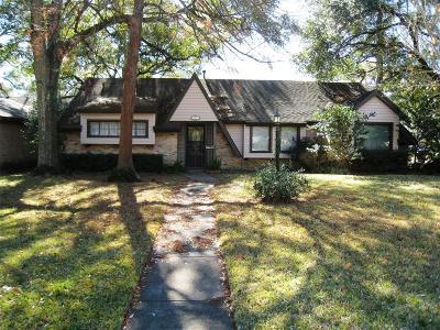 Houston Single Family Home For Sale: 10127 Eddystone Drive