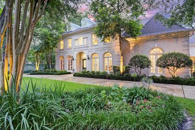 Bunker Hill Village Single Family Home For Sale: 11913 Heritage Lane
