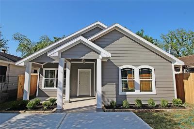 Houston Single Family Home For Sale: 7129 Avenue O