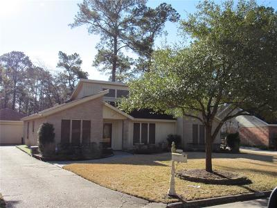 Kingwood Single Family Home For Sale: 2030 Round Spring Drive