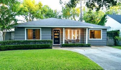 Houston Single Family Home For Sale: 3809 Rice Boulevard