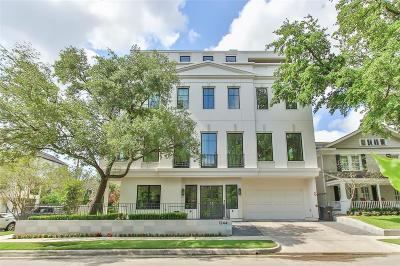 Houston Single Family Home For Sale: 1244 W Pierce Street