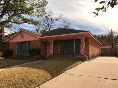 Houston Single Family Home For Sale: 4406 Leeland Street