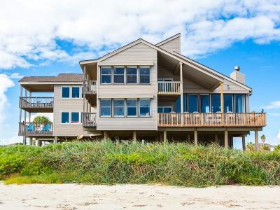 Galveston Single Family Home For Sale: 4251 Sandpiper Lane