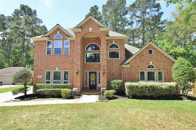 Kingwood Single Family Home For Sale: 2239 Deer Cove Trail