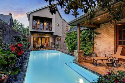 Houston Single Family Home For Sale: 1719 Marshall Street