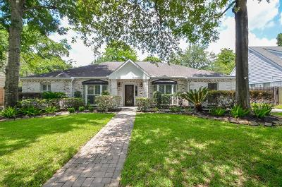 Houston Single Family Home For Sale: 615 Hallie Drive