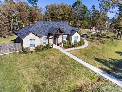 Montgomery Single Family Home For Sale: 11449 Lake Oak Drive
