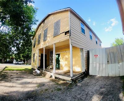 Houston Multi Family Home For Sale: 2514 Gano Street