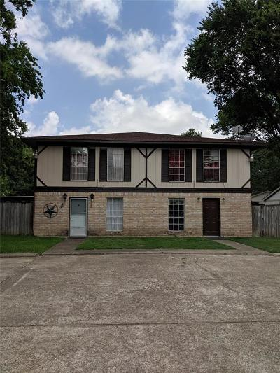Galveston County, Harris County Multi Family Home For Sale: 9130 Vogue Lane
