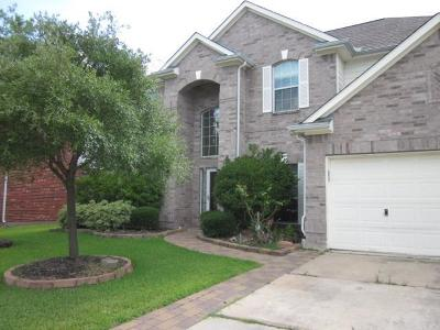 Tomball Single Family Home For Sale: 18115 Holly Thorn