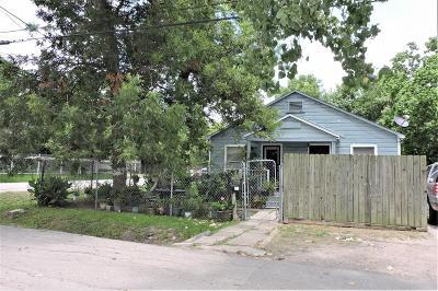 Houston Single Family Home For Sale: 7401 Anzac Street