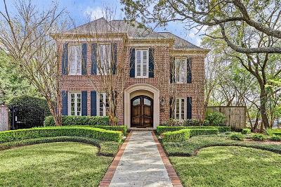 West University Place Single Family Home For Sale: 3617 Rice Boulevard