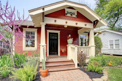 Houston Single Family Home For Sale: 803 Peddie Street