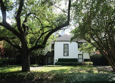 Houston Single Family Home For Sale: 2039 University Boulevard