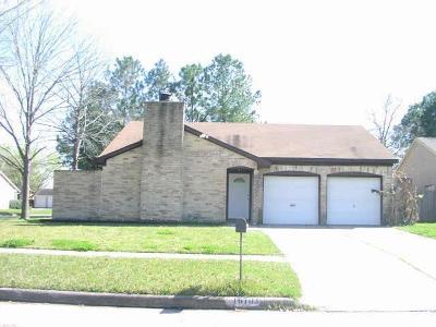 Houston Single Family Home For Sale: 16703 Castle Fraser Drive