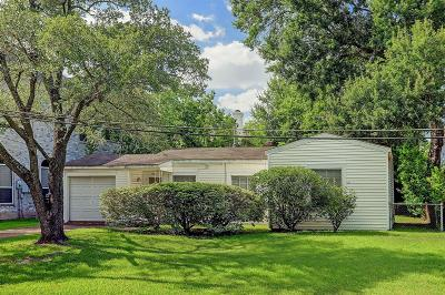 Bellaire Single Family Home For Sale: 4906 Fern Street