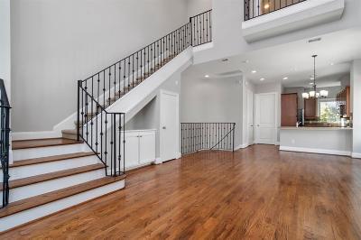 Houston Condo/Townhouse For Sale: 2840 Leeland Street