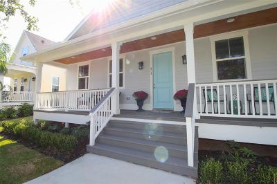Galveston Single Family Home For Sale: 31 Porch Street