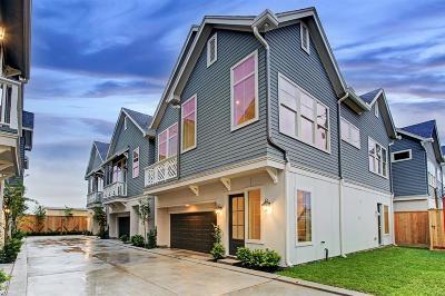 Houston Single Family Home For Sale: 2117 Naomi Avenue #A