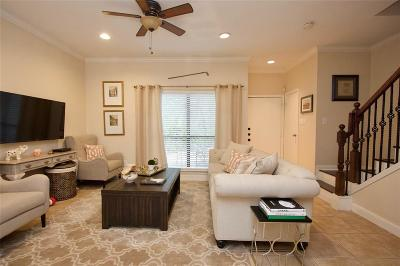 Houston Condo/Townhouse For Sale: 11711 Memorial Drive #591