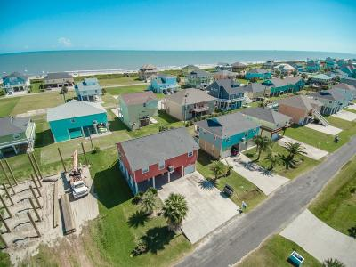 Crystal Beach Single Family Home For Sale: 3346 Pirates Cv