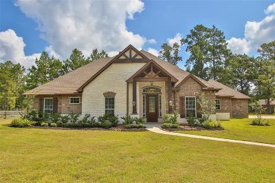 Magnolia Single Family Home For Sale: 28054 Chuck Wagon