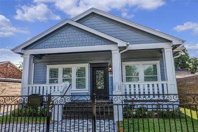 Houston Single Family Home For Sale: 1405 Tabor Street