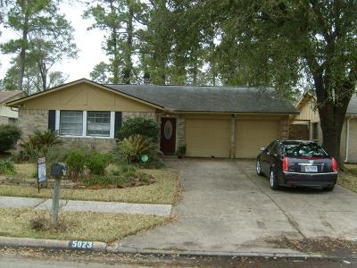 Spring Single Family Home For Sale: 5023 Adonis Drive