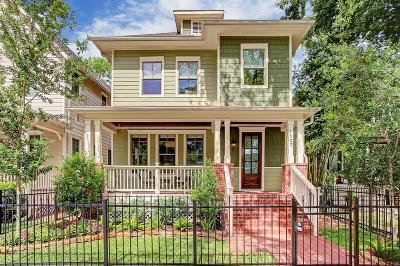 Houston Single Family Home For Sale: 1527 Ashland Street