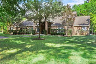Magnolia Single Family Home For Sale: 9514 Miller Road