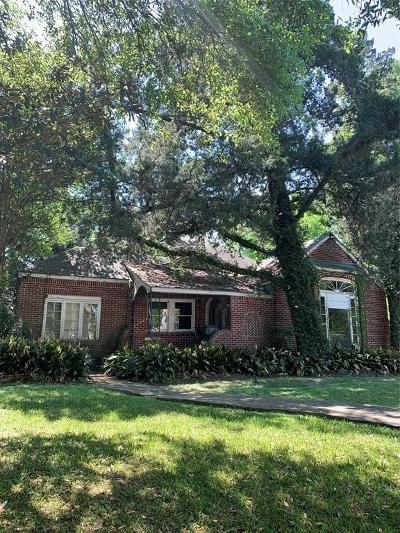 Medical Center Single Family Home For Sale: 1911 Lauderdale Street