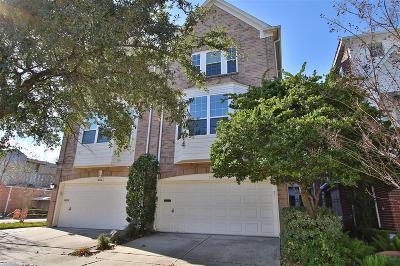 Houston Condo/Townhouse For Sale: 2318 Morse Street