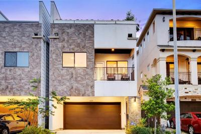 Houston Single Family Home For Sale: 421 W Bell Street