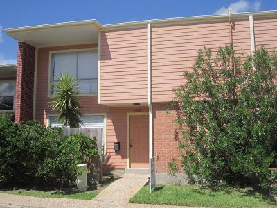 Galveston Condo/Townhouse For Sale: 3318 Ashton Place
