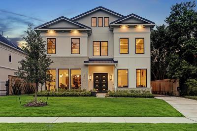 Houston Single Family Home For Sale: 2433 Pelham Drive