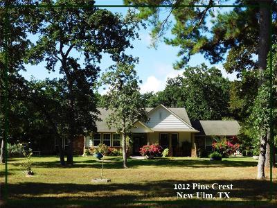 New Ulm Farm & Ranch For Sale: 1012 Pine Crest Drive