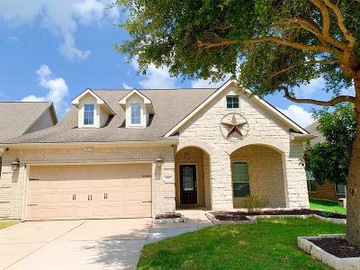 Alvin Single Family Home For Sale: 1019 Luke Drive