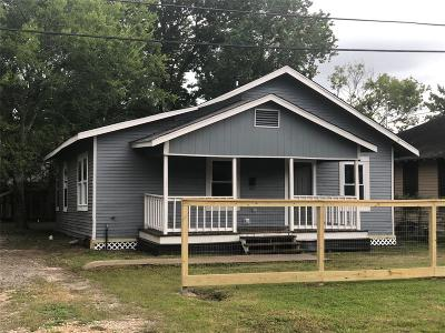 Houston Single Family Home For Sale: 4226 Aledo Street