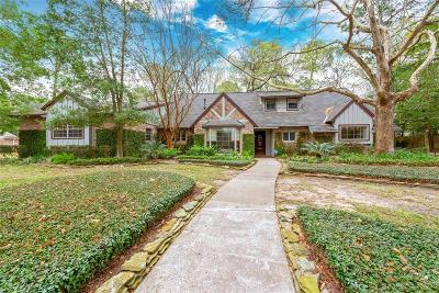 Houston Single Family Home For Sale: 726 Brittmoore Road