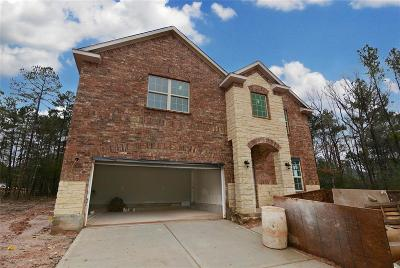 Willis Single Family Home For Sale: 123 Cobble Medley Court