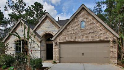 Conroe TX Single Family Home For Sale: $318,900