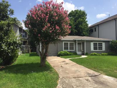 Bellaire Single Family Home For Sale: 4336 Cynthia Street