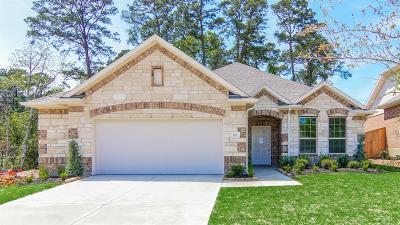 Conroe TX Single Family Home For Sale: $274,125