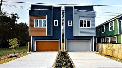 Houston Single Family Home For Sale: 4207 E Hardy Street